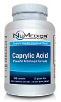 NuMedica Caprylic Acid - 100c professional-grade supplement