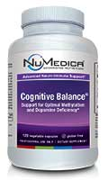 NuMedica Cognitive Balance - 120 Capsules professional-grade supplement