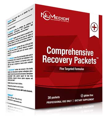NuMedica Comprehensive Recovery Packets - 30 pack professional-grade supplement