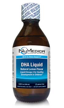 NuMedica DHA Liquid - 6.8 oz professional-grade supplement