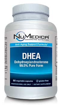 NuMedica DHEA 25 mg - 90c professional-grade supplement