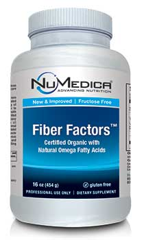 NuMedica Fiber Factors (New & Improved) - 16 oz. professional-grade supplement