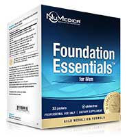 NuMedica Foundation Essentials Men + CoQ10 - 30 packs professional-grade supplement