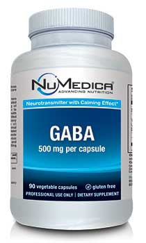 NuMedica GABA Capsules - 90c professional-grade supplement