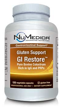 NuMedica Gluten Support GI Restore Caps - 120c professional-grade supplement