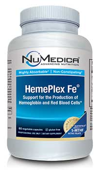 NuMedica HemePlex Fe - 60c professional-grade supplement