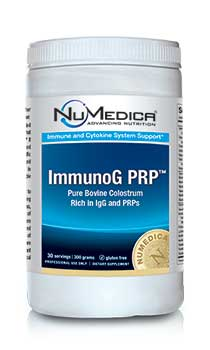 NuMedica ImmunoG PRP Powder - 30 svgs professional-grade supplement