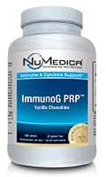 NuMedica ImmunoG PRP Chewables Vanilla - 120t professional-grade supplement