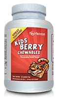 NuMedica Kids Berry Chewables - 120t professional-grade supplement