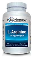 NuMedica L-Arginine - 120c professional-grade supplement