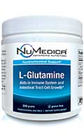 NuMedica L-Glutamine Powder - 60 svgs professional-grade supplement