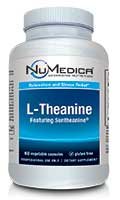 NuMedica L-Theanine - 60c professional-grade supplement