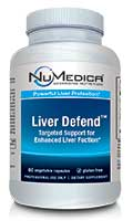 NuMedica Liver Defend - 60c professional-grade supplement