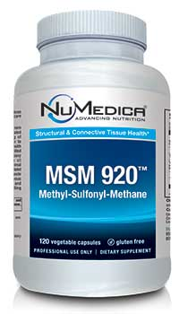NuMedica MSM 920 - 120c professional-grade supplement
