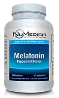 NuMedica Melatonin 3 mg Lozenges - 60 loz professional-grade supplement