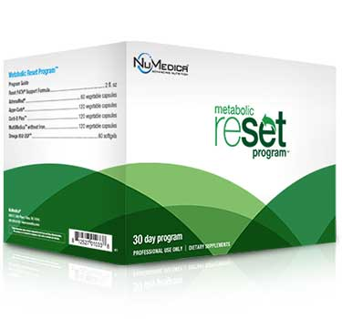 NuMedica Metabolic Reset Kit - 30 day professional-grade supplement