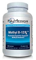 NuMedica Methyl B-12 Rx - 60 loz professional-grade supplement