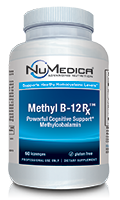 NuMedica Methyl B-12 Rx 60 Lozenges