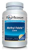 NuMedica Methyl Folate - 5-MTHF - 60c professional-grade supplement