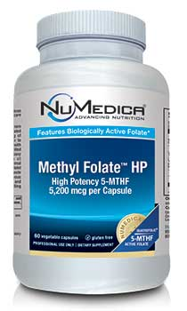NuMedica Methyl Folate HP - 60c professional-grade supplement