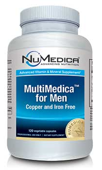 NuMedica MultiMedica for Men - 120c professional-grade supplement