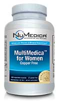 NuMedica MultiMedica for Women - 120c professional-grade supplement