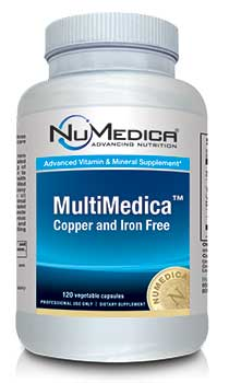 NuMedica MultiMedica Without Iron - 120c professional-grade supplement