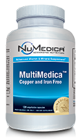 NuMedica MultiMedica Without Iron - 120c