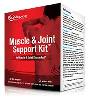 NuMedica Muscle & Joint Support Kit - 30 day professional-grade supplement