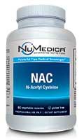 NuMedica NAC (N-Acetyl Cysteine) - 60c professional-grade supplement