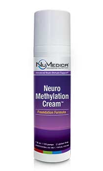NuMedica NeuroMethylation Cream (Enhanced Formula) - 1.8 oz professional-grade supplement