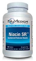 NuMedica Niacin SR - 120t professional-grade supplement