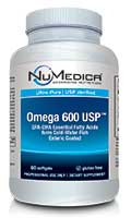 NuMedica Omega 600 USP EC - 60 sfgl professional-grade supplement