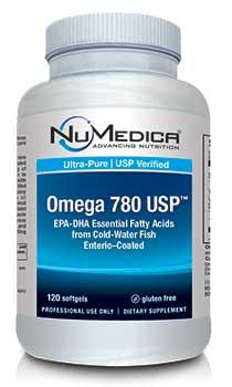 NuMedica Omega 780 USP EC - 120 sfgl professional-grade supplement