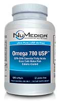 NuMedica Omega 780 USP EC - 120 sfgl professional-grade supplement