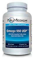 NuMedica Omega 950 USP - 60 sfgl professional-grade supplement