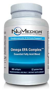 NuMedica Omega EFA Complex - 60 sfgl professional-grade supplement