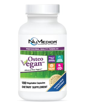 NuMedica Osteo Vegan Rx - 180c professional-grade supplement