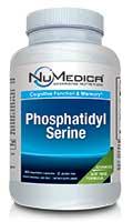 NuMedica Phosphatidyl Serine Soy Free 60 capsule professional-grade supplement