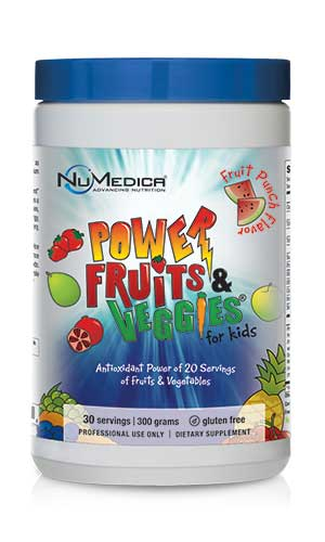 NuMedica Power Fruits & Veggies for Kids - 30 svgs