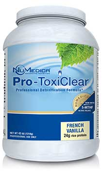NuMedica Pro ToxiClear Vanilla - 21 svgs professional-grade supplement