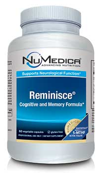 NuMedica Reminisce - 60c professional-grade supplement