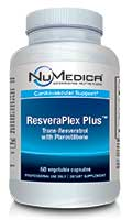 NuMedica ResveraPlex Plus - 60c  professional-grade supplement