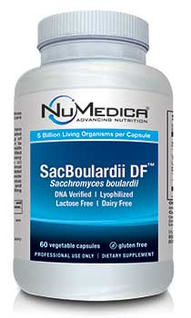 NuMedica SacBoulardii DF - 60c professional-grade supplement