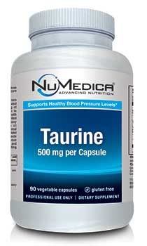 NuMedica Taurine - 100c professional-grade supplement