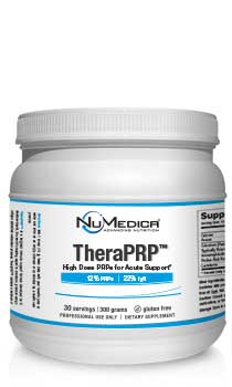 NuMedica TheraPRP Powder - 140g professional-grade supplement