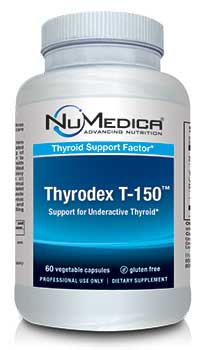 NuMedica Thyrodex T-150 - 60c professional-grade supplement