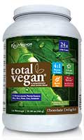 NuMedica Total Vegan Protein Chocolate - 14 servings