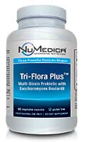 NuMedica Tri-Flora Plus - 60c professional-grade supplement