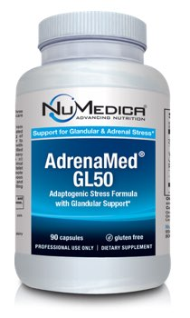 NuMedica AdrenaMed GL50 - 90c professional-grade supplement